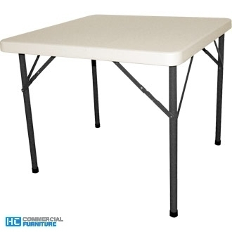 Bolero 2.9ft Foldaway Square Table