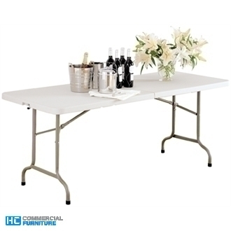 Bolero 6ft Centre Folding Utility Table