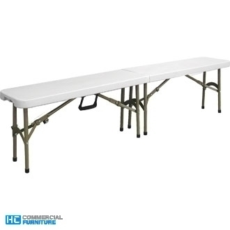 Bolero Centre Folding Bench 6ft (1.8m)
