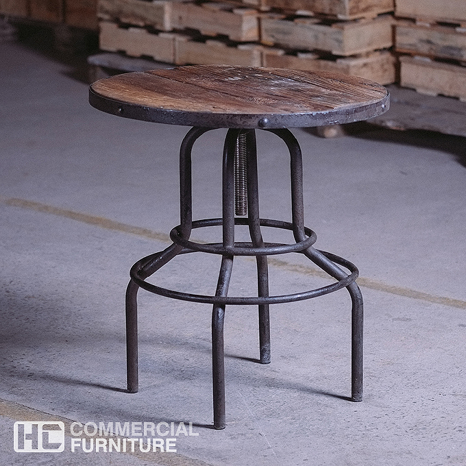 Home furniture tables table tops industrial look timber table