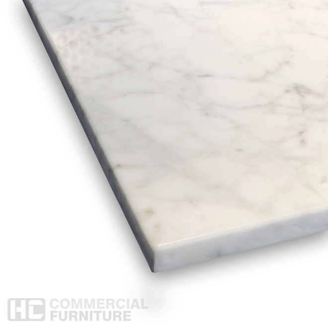 Aged Carrara Marble Table Top Hccf Commercial Furniture