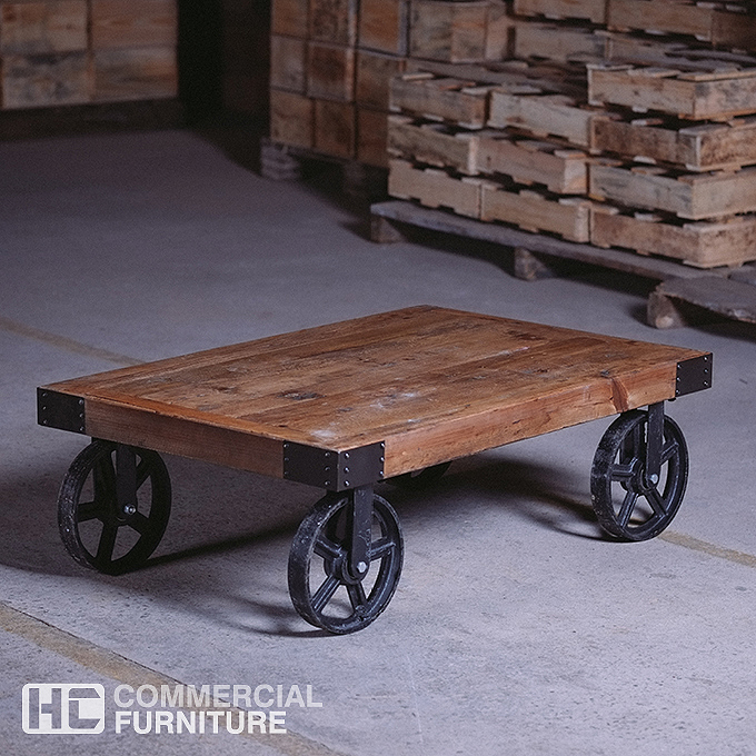Industrial Coffee Table Images: IF111 Industrial Coffee Table