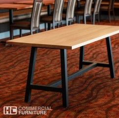 Classic and Vintage Trestle Tables from HCCF