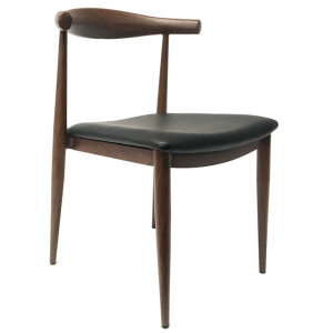 HCCF_Commercial_Furniture_Upholstered_Steel_Timber_Look_Dining_Chair_UC06