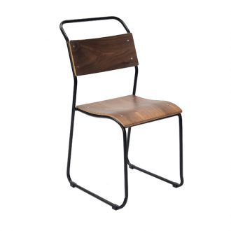 HCCF_Commercial_Furniture_Metal_And_Timber_Dining_Chair_MT517