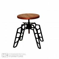 HCCF_Commercial_Furniture_Solid_Timber_Powder_Coat_Adjustable_Lowstool_ls544k