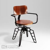 HCCF_Commercial_Furniture_Metal_And_Timber_Dining_Chair_MT544A2