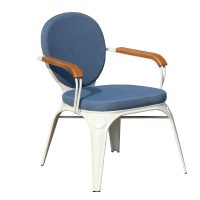 HCCF_Commercial_Furniture_Upholster_Metal_Seat_Timber_Arms_UC533 LC