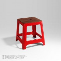 HCCF_Commercial_Furniture_Solid_Timber_Powder_Coat_Lowstool_ls540a