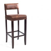 HCCF_Commercial_Furniture_Upholstered_Vintage_Leather_Timber_BarStool_VL042_Havana