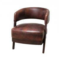 ommercial_Furniture_Vintage_Leather_Tub_Chair_VL675 Havana