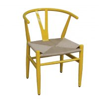 HCCF_Commercial_Furniture_Metal_Upholstered_Rattan_Weave_Chair_MT519Y