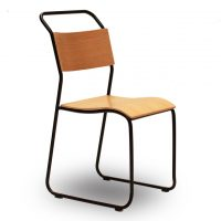 HCCF_Commercial_Furniture_Metal_and_Timber_Dining_Stackable_Chair_MT517