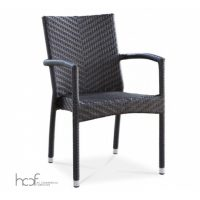 01. PC011 Palm Armchair Black