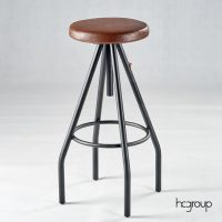HCCF_Commercial_Furniture_Upholster_Industrial_BarStool_Adjustable_BS233C