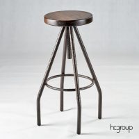 HCCF_Commercial_Furniture_Solid_Timber_Industrial_BarStool_Adjustable_BS233T