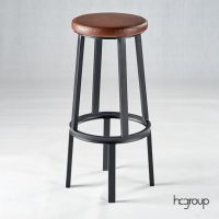 HCCF_Commercial_Furniture_Upholstered_Barstool_Powder_Coat_BS236C