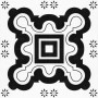 HCCF_Tiles_Black_And_White_Tile_T2011_(4_Tiles_1_Pattern)