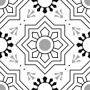 HCCF_Tiles_Black_And_White_Tile_T2442_(4_Tiles_1_Pattern)