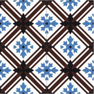 HCCF_Tiles_Flower_Sea_Tile_T2478_(4_Tiles_1_Pattern)