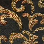 Black and Gold JSD5001-5 Fabric