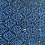 Blue F2-2 Fabric