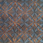 Blue and Bronze SF2036-2 Fabric