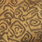 Gold and Brown SF03-7 Fabric