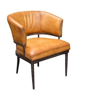 HCCF_Commercial_Furniture_Vintage_leather_Seating_chair_VL-CY-012