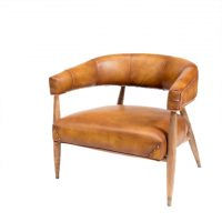 HCCF_Commercial_Furniture_Vintage_leather_Seating_chair_VL-CY-005