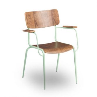 HCCF_Commercial_Furniture_Metal_TImber_Chair_MT587M