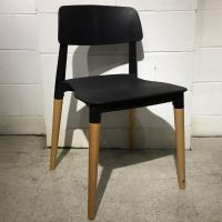 HCCF_Commercial_Furniture_Clearance_Plastic_And_Timber_Dining_Chair