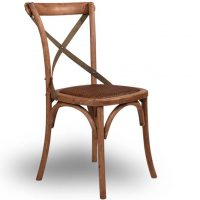 HCCF_Commercial_Furniture_Cross_Back_Timber_Metal_Dining_Chair_TC-072M