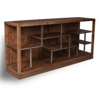 HCCF_Commercial_Furniture_Industrial_Timber_Metal_Shelving_Unit_TWU500
