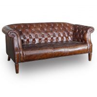 HCCF_Commercial_Furniture_Vintage_Leather_Collection_3_Seat_Sofa_VL115