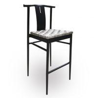 HCCF_Commercial_Furniture_Outdoor_Aluminium_Wicker_Bar_Stool_BS333