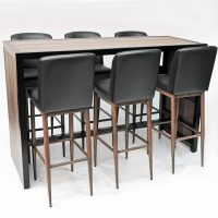 HCCF Commercial Furniture Dry Bar Set 11