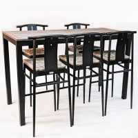 HCCF Commercial Furniture Dry Bar Set 12