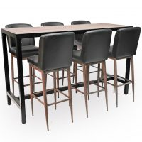 HCCF Commercial Furniture Dry Bar Set 14